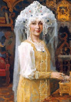 mit Braut Russland aus
