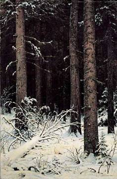 Fine Art Reproduction: Iwan Iwanowitsch Schischkin, Tannenwald im Winter