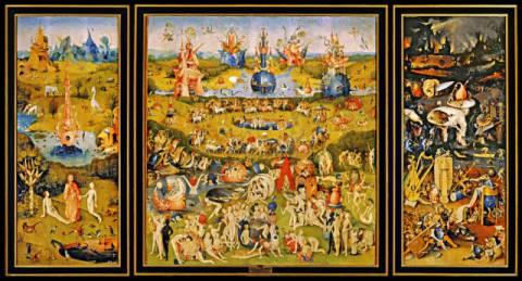 Hieronymus Bosch Der Garten Der Luste Fine Art Reproduction