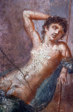 Fine Art Reproduction, individual art card: Pompeji, Endymion