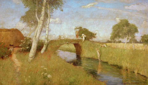 Fine Art Reproduction: Otto Modersohn, Summer in the Moor