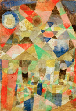 Fine Art Reproduction: Paul Klee, Star festival with ships