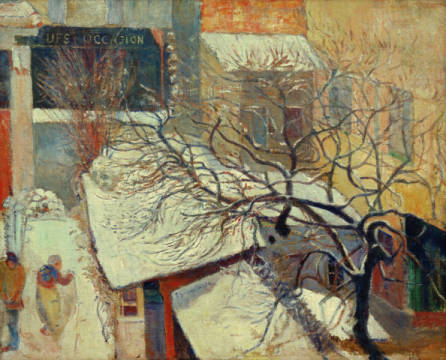 Paul Gauguin. Die Mas von Arles. 1888, Öl auf Leinwand, 72