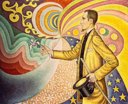 Fine Art Reproduction: Paul Signac, Portrait of Felix Feneon
