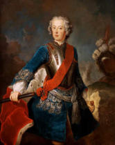 Antoine Pesne - Frederick the Great as Crown Prince