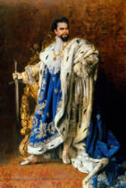 Gabriel Schachinger - Louis II / Paint.by Schachinger / 1887