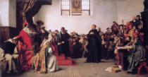 Anton Alexander von Werner - Luther at the Diet of Worms