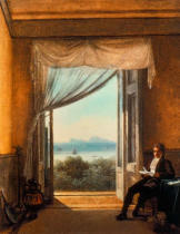 Franz Louis Catel - Schinkel in Naples