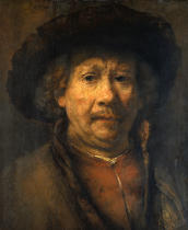Harmensz van Rijn Rembrandt - The small selfportrait