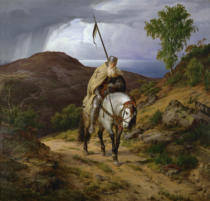 Karl Friedrich Lessing - Home-coming crusader / Lessing / 1835
