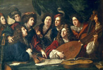 Francois Puget - Company of musicians and singers