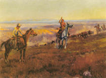 Charles Marion Russell - Cowboy und Indianer / Russell