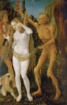 Hans Baldung-Grien - The Three Ages of Woman and Death