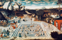 AKG Anonymous - Elder Cranach / Fountain of Youth / 1546