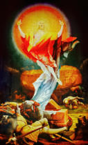 Mathis Gothart Grünewald - The Resurrection
