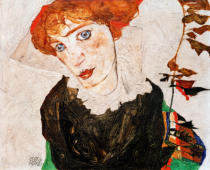Egon Schiele - Bildnis Wally