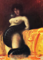 Franz von Stuck - The sin