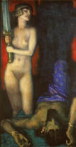Franz von Stuck - Judith and Holofernes III