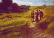 Fritz von Uhde - The Road to Emmaus