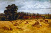 William Bradley - A Cornfield near Cookham