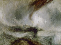 Joseph Mallord William Turner - Snowstorm at Sea