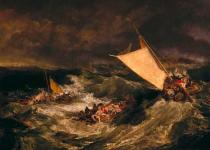 Joseph Mallord William Turner - The Shipwreck