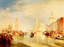 Joseph Mallord William Turner - Dogana and San Giorgio Maggiore