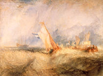 Joseph Mallord William Turner - Admiral van Tromp kreuzt gegen den Wind