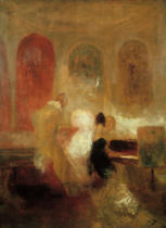 Joseph Mallord William Turner - A Music Party, East Cowes Castle (Music at East Cowes Castle)