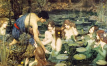John William Waterhouse - Hylas und die Nymphen