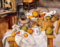 Paul Cézanne - Stilllife with Fruit Basket