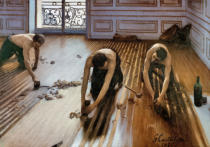 Gustave Caillebotte - The floor planers