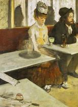 Edgar Degas - The Absinth / 1876