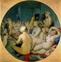 Jean-Auguste-Dominique Ingres - The Turkish bath