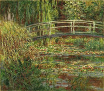Claude Monet - The water lily pond, harmony in pink