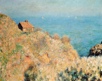 Claude Monet - The Customs Officer's Cottage at Varengeville