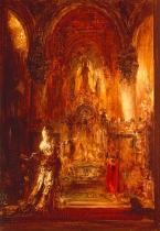 Gustave Moreau - Salome dancing before Herod