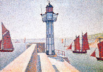 Paul Signac - The lighthouse of Portrieux