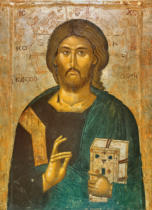 Ikonenmalerei - Christ the Giver of Life / Icon / 1394