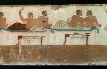 AKG Anonymous - Banquet scene from Paestum / Greek.