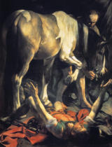 Michelangelo Merisi da Caravaggio - The Conversion of St. Paul, 1601