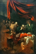 Michelangelo Merisi da Caravaggio - The Death of Mary