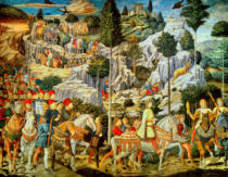 Benozzo di Lese di Sandro Gozzoli - Procession of the Magi