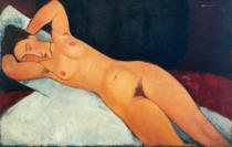 Amedeo Modigliani - Akt