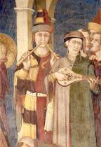 Simone Martini - The Investiture of St.Martin of Tours as a Knight