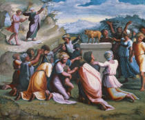 Raphael - The dance around the Golden Calf