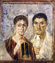 AKG Anonymous - Paquius Proculus with wife / Pompeii