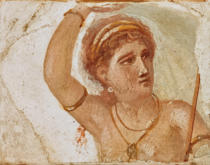 AKG Anonymous - Portrait of a woman/Roman wall-painting