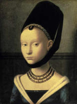 Petrus Christus - Picture of a young Woman
