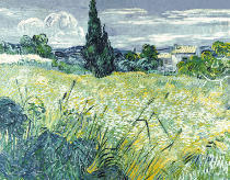 Vincent van Gogh - Green Wheatfield with Cypresse